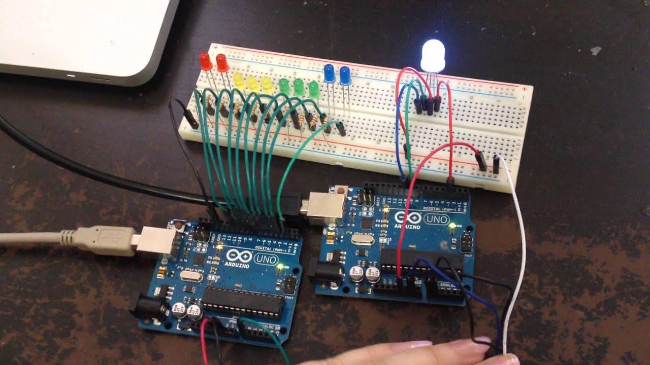 Arduino Led Sound Bar  U0026 Rgb Light