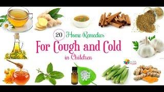 20 Home Remedies voor Hoest en Verkoudheid bij Baby ' s en Peuters