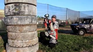 №6 Пейнтбол - как стрелять из за укрытий