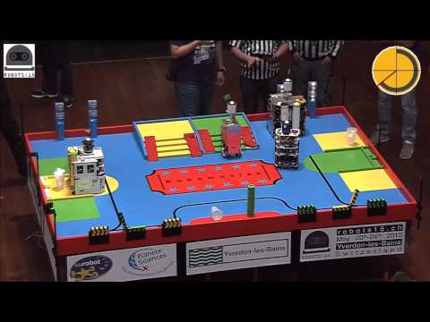 Eurobot 2015: Eurobotics Engineering (85) vs Serbian Robotics Team (70)