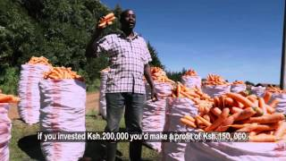 Carrot Farmer from Kenya