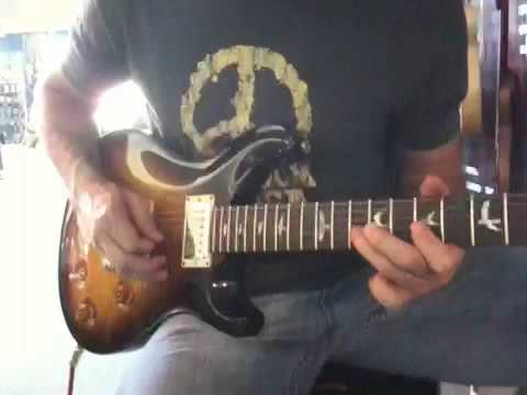 Paul Carson Plays the PRS McCarty at Palen Music Center