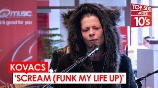 Kovacs - 'Scream (Funk My Life Up)' (live bij Mattie & Wietze)