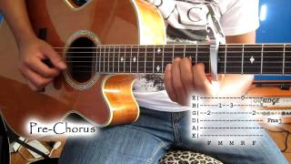 (Capo 7th Fret) Safe and Sound by Taylor Swift Tutorial