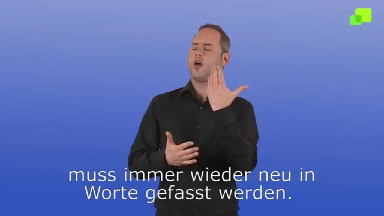 Evangelien In Gebärdensprache Osternacht Kommentar