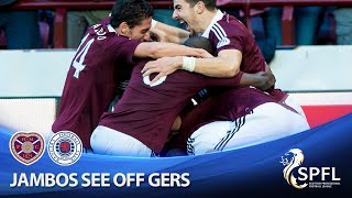 Hearts beat Gers to move 9 points clear at the top thumbnail