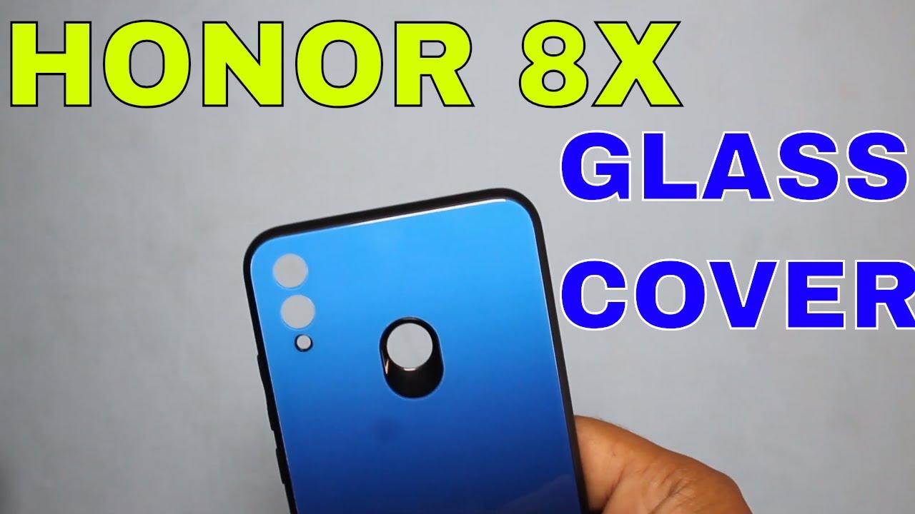 HONOR 8X Premium Original Glass Back Cover | HONOR Glass COVER | HONOR 8X  Best Glass COVER
