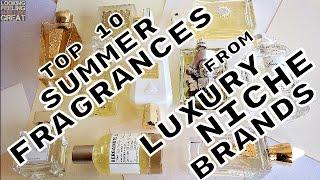Video Top 10 Summer Fragrances By Luxury Niche Brands download MP3, 3GP, MP4, WEBM, AVI, FLV Juli 2018