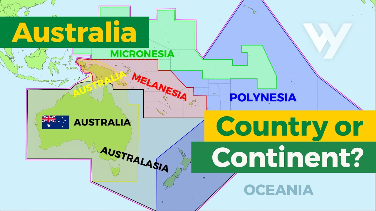 Australia: Country or Continent? - YouTube