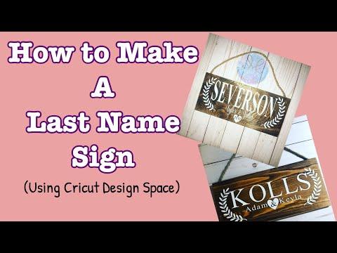 DIY Wooden Sign w/Cricut Design Space! Applying Vinyl to Wood!