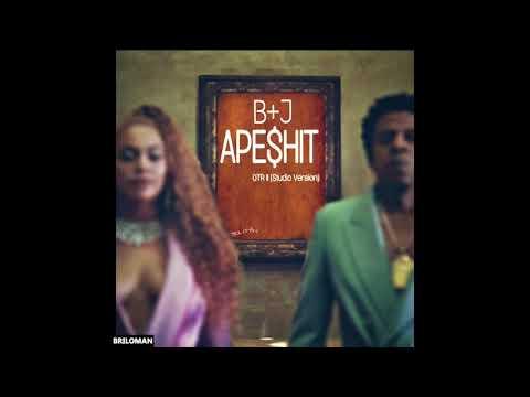 THE CARTERS - APESHIT Live (Studio Version) + OTR II vocals