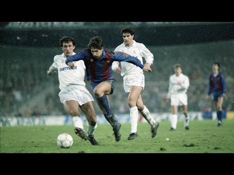 Gary Lineker hat-trick stuns Real Madrid