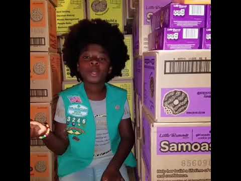 Kristina - Girl Scout Covers Cardi B Money to Sell Cookies