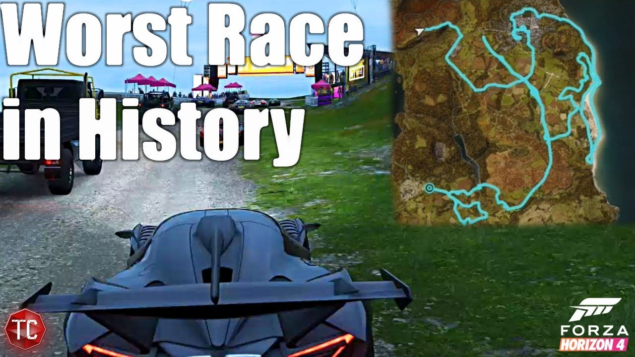 Forza Horizon 4: THE WORST RACE IN HISTORY! Full, Uncut Gameplay