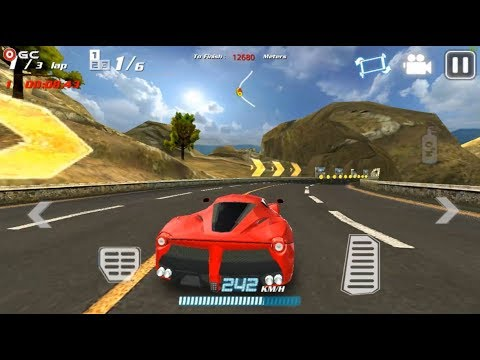 Crazy Speed Fast Racing Car Ferrari F458 Sports Car Racing Games Android Gameplay Fhd 3 Youtube