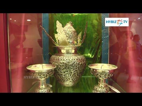 Antique Silver Idols At GRT Jewellers Chevi Ringula Sambaralu - Hybiz.tv