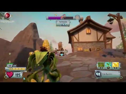 Plants vs Zombies Garden Warfare 2  Gardens and Graveyards Seeds of Time Plants More Gamelay