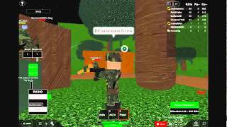 Me pwning on roblox Tet offensive.