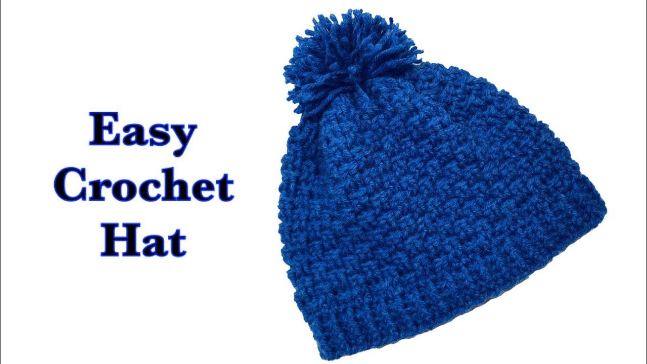 d1a860fac84 Easy crochet hat