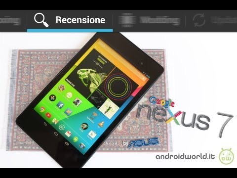 ASUS Nexus 7 (2013), recensione in italiano by AndroidWorld.it