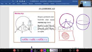 YKS - TYT & AYT Geometri - Çemberde Açı, Daire Konu Anlatımı / nettekurs.com Online TYT AYT Kurs