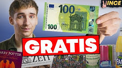 Über 100€ Produkte GRATIS bekommen! 🤑💸│Selbstexperiment