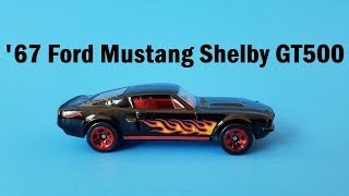 Hot Wheels Cars - '67 Ford Mustang Shelby GT500