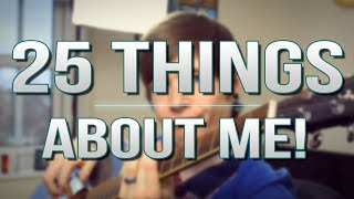 TDM Vlogs | 25 THINGS ABOUT ME! | Episode 20