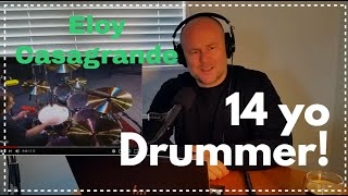Drum Teacher Reacts: Eloy Casagrande   14 Years Old (Modern Drummer Festival 2005)