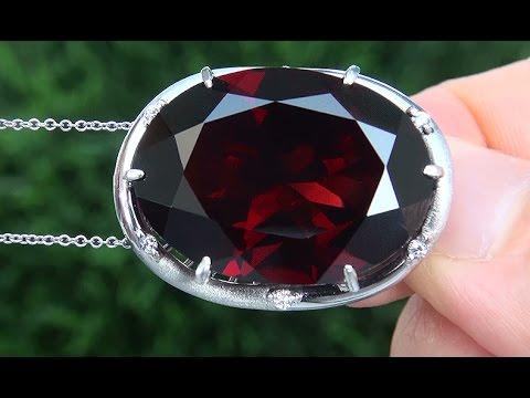 Gia certified natural unheated pyrope rhodolite garnet diamond gia certified natural unheated pyrope rhodolite garnet diamond platinum pendant necklace a141462 aloadofball Choice Image