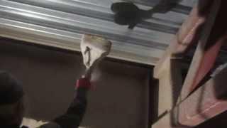 Огнезащитная обработка штукатуркой(, 2013-07-28T09:16:54.000Z)