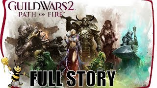 GUILD WARS 2 PATH OF FIRE Gameplay Walkthrough | FULL STORY All Chapters 1-14