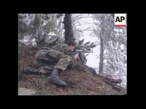 Bosnia - Bosnian Serbs Launch Counter-Attack