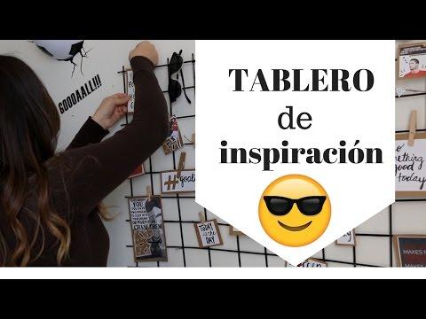 """TABLERO DE INSPIRACIÓN """"DIY"""" (INSPIRATIONAL BOARD)- ♥MELISSA TORRES"""