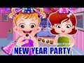 Baby Hazel New Year Party Games For Kids | New Year Movie by Baby Hazel Games