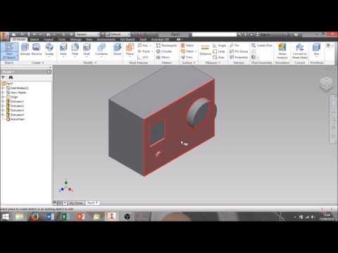 Tutorial CAD #1 Primi passi con CAD Autodesk Inventor
