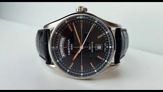 CERTINA DS-1 Day-Date Automatic. Обзор швейцарских механических часов