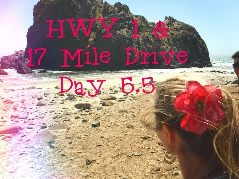 TRAVEL WITH ME | 17 Mile Drive/ HWY 1 /Big Sur Vlog