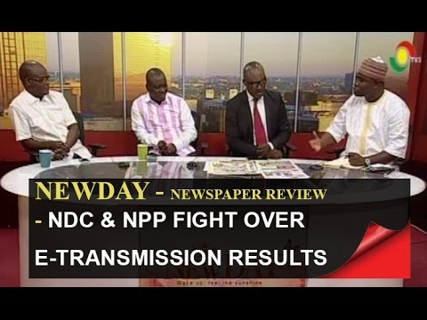 NDC & NPP fight over e transmission of results - Newspaper Review - 4/8/2016