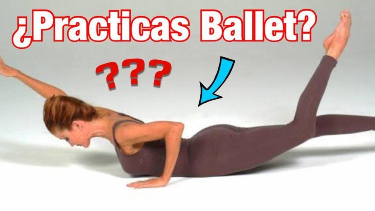 ▶︎ 👉  BARRA AL PISO / Gimnástica para MEJORAR EN BALLET // Fuerza abdomen y espalda