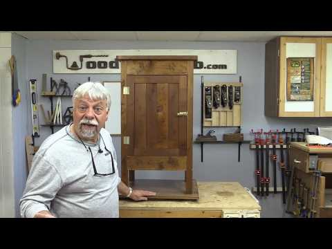 Make an Antique Style Wood Ice Box / Standing Wood Cabinet
