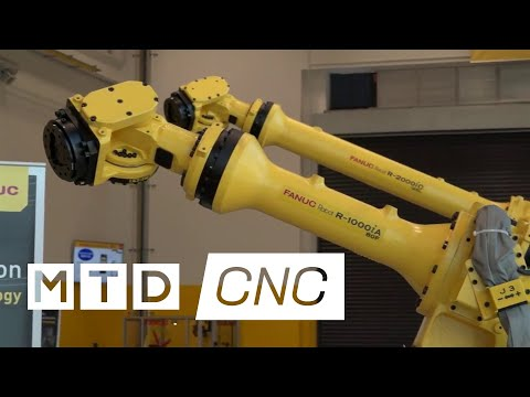 World leaders in ROBOT production - hear FANUCS story