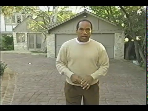 O.J. Simpson Interview, Tour of the house. pt1