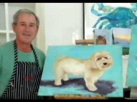 George W. Bush's Paintings  Revealed