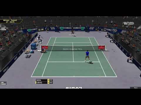 [ HD ] Rafael Nadal vs Pablo Cuevas Full Match   Paris Master 2017 - Third Round - 3D Animation