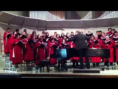 """Pacific Union College chorale sings """" Behold Him"""""""
