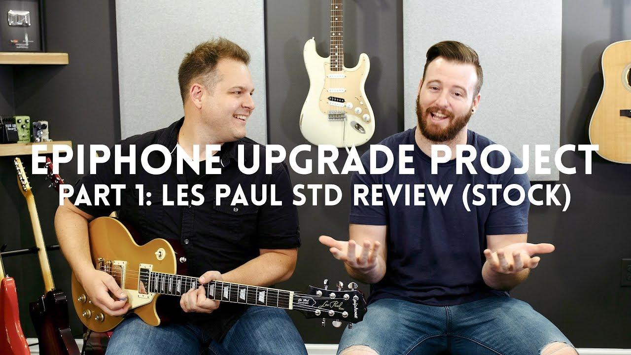 part 1 stock les paul standard review [ 1280 x 720 Pixel ]