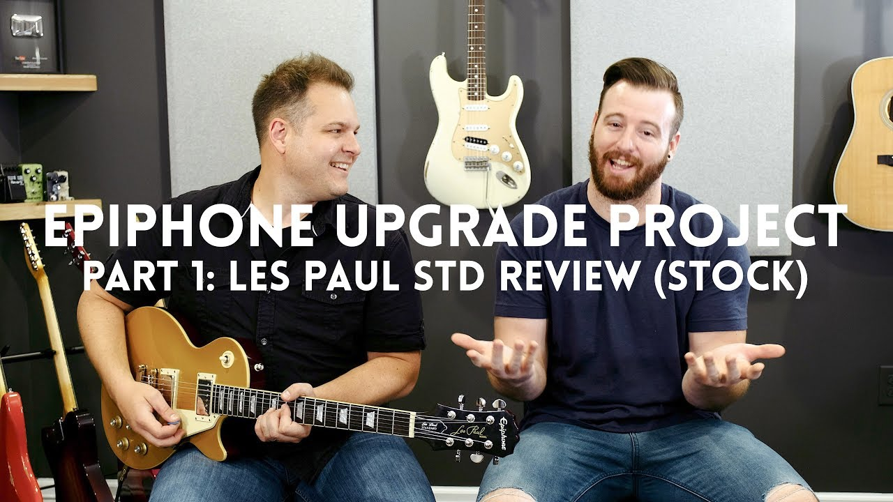 medium resolution of part 1 stock les paul standard review