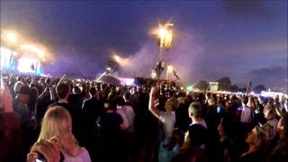 Crowds Riot In Hyde Park 2014 @ The Libertines Concert