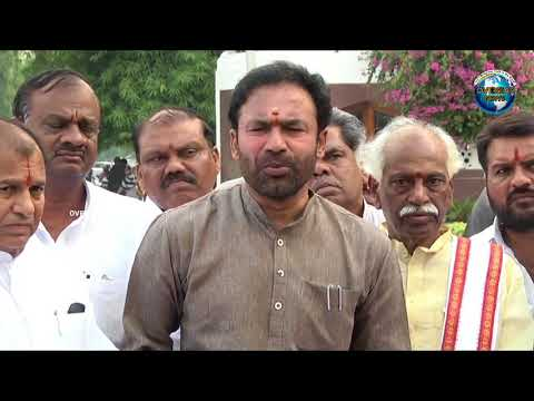 Kishan Reddy Speaks About Agriculture after submitting Memorandum to Governor | Overseas News
